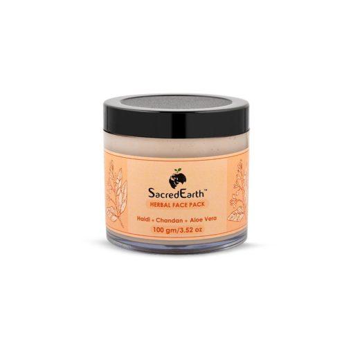 Herbal Face Pack - With Haldi, Chandan