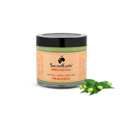 Herbal Face Pack - With Neem,Tea Tree