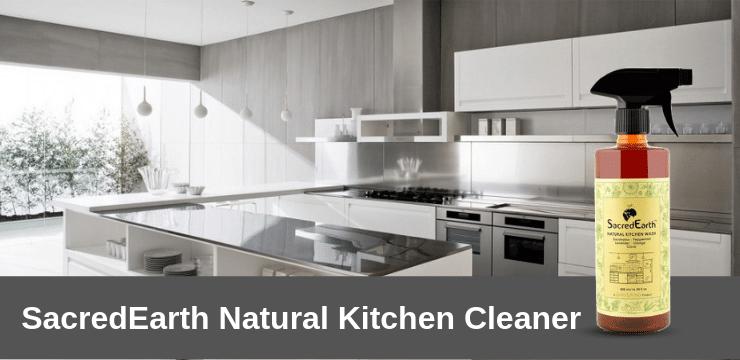 Sacredearth Kitchen Cleaner spray  liquid wash